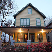 A Christmas Story House from movie