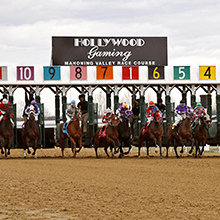 Hollywood Gaming gate first race