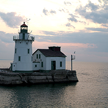 Nautica Queen lighthouse
