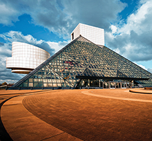 Rock and Roll Hall of Fame exterior