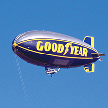 Western Reserve Historical Society Goodyear Blimp