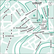 Trolley Tours map location