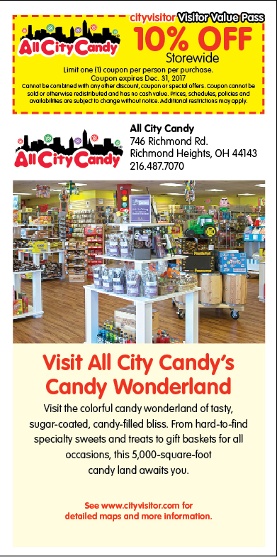 All City Candy Visitor Value Pass Coupon
