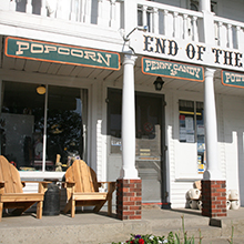 End of the Commons porch