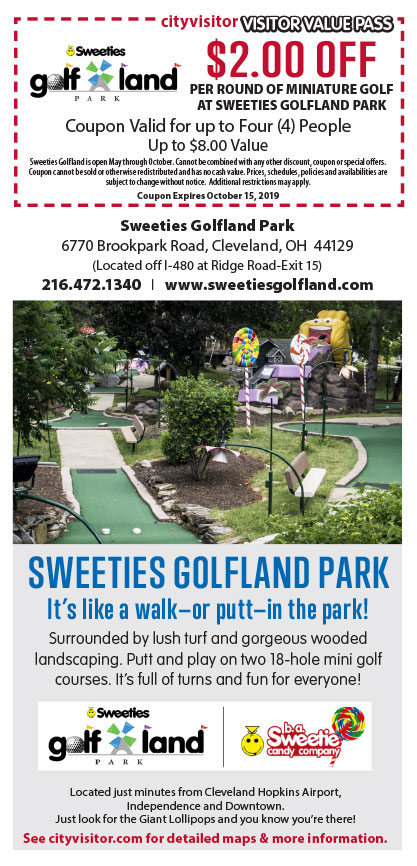 Sweeties Golfland VVP Coupon